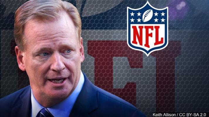 NFL+comissionner+Goodell