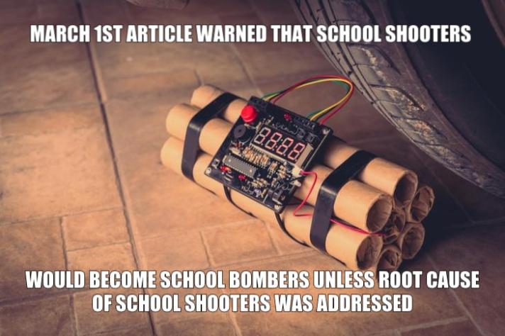school bomb shooter combo parkland